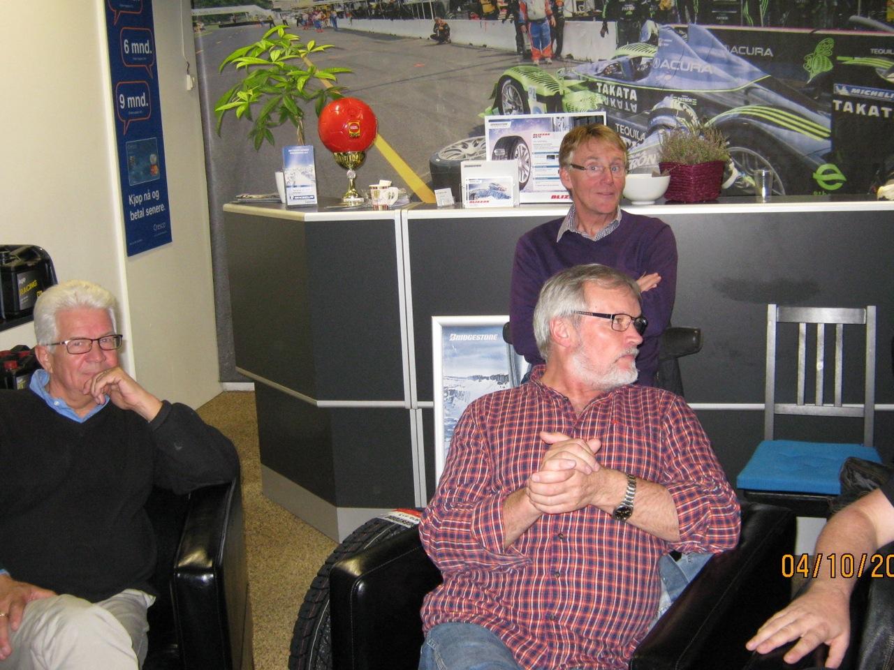 Innemøte oktober (04.10.2011) Norsk Sportsvogn Klubb